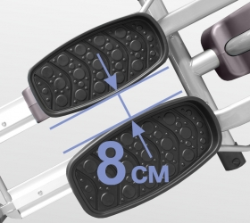 OXYGEN ELC Эллиптический эргометр - Супермалый Q-фактор 8 см.