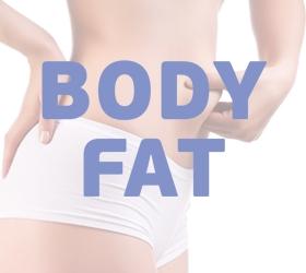 OXYGEN ELC Эллиптический эргометр - Режим жироанализатора Body Fat для определения комплекции организма