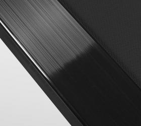CARBON FITNESS T140 Беговая дорожка - Антискользящие рифленые боковые направляющие